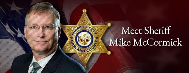 Meet Sheriff Mike McCormick