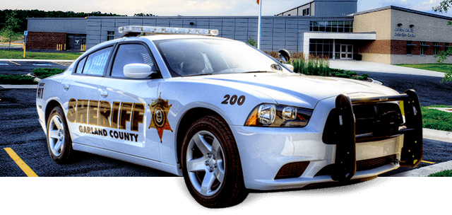 Sheriff Garland County Car