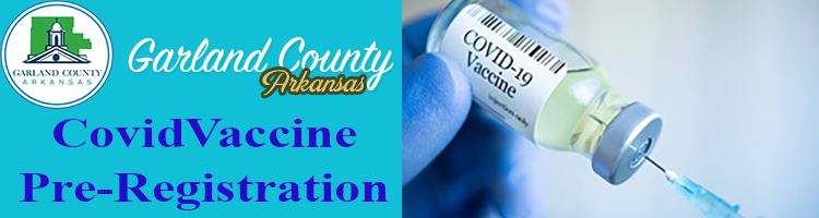 Garland County Vaccine Registration